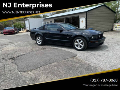 2007 Ford Mustang for sale at NJ Enterprises in Indianapolis IN