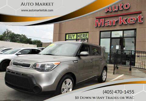 2015 Kia Soul for sale at Auto Market in Oklahoma City OK