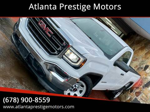 2018 GMC Sierra 1500 for sale at Atlanta Prestige Motors in Decatur GA