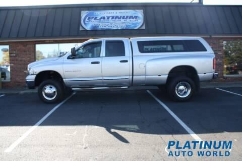 2004 Dodge Ram Pickup 3500 for sale at Platinum Auto World in Fredericksburg VA