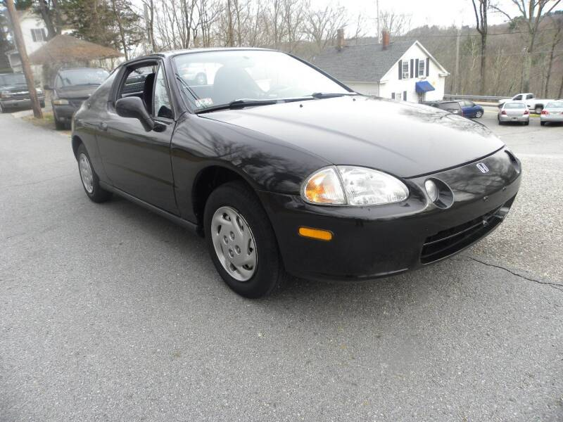 1995 Honda Civic del Sol for sale at STURBRIDGE CAR SERVICE CO in Sturbridge MA