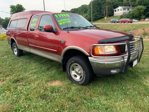 2002 Ford F-150 for sale at PREMIUM PRE-OWNED AUTOS in East Peoria IL