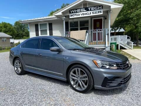 2017 Volkswagen Passat for sale at Wheel Tech Motor Vehicle Sales in Maylene AL