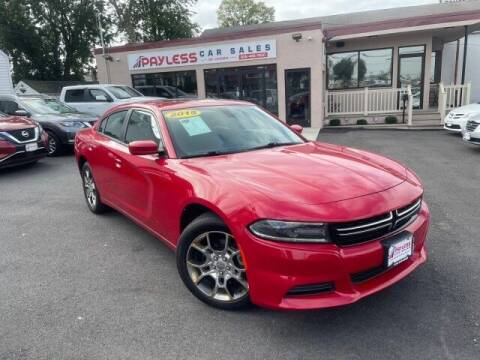 2015 Dodge Charger for sale at PAYLESS CAR SALES of South Amboy in South Amboy NJ