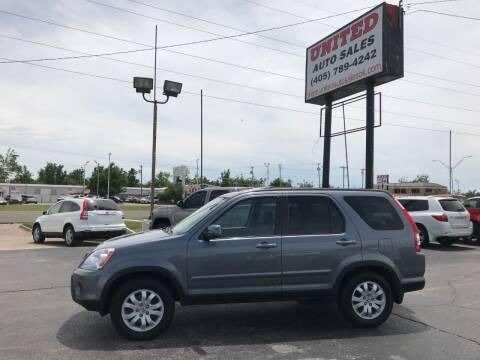 2005 Honda CR-V for sale at United Auto Sales in Oklahoma City OK