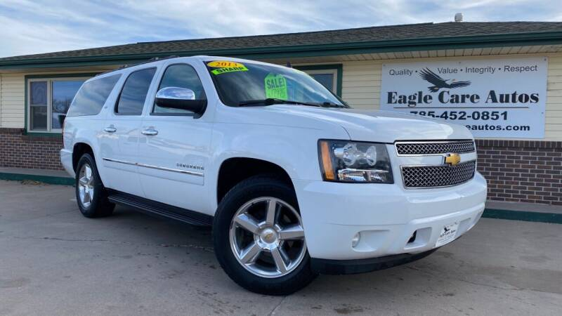 2013 Chevrolet Suburban for sale at Eagle Care Autos in Mcpherson KS