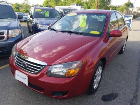 2009 Kia Spectra for sale at Howe's Auto Sales in Lowell MA