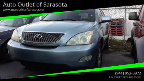 2005 Lexus RX 330 for sale at Auto Outlet of Sarasota in Sarasota FL