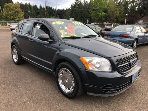 2008 Dodge Caliber for sale at Freeborn Motors in Lafayette, OR