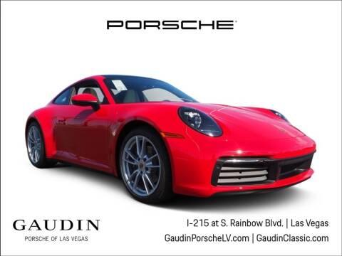 2021 Porsche 911 for sale at Gaudin Porsche in Las Vegas NV