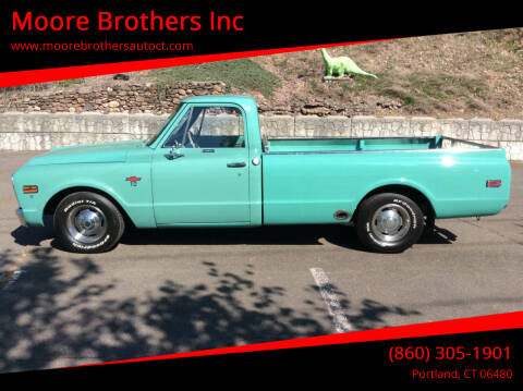 1968 Chevrolet C/K 10 Series for sale at Moore Brothers Inc in Portland CT