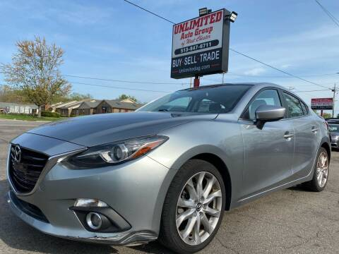 2015 Mazda MAZDA3 for sale at Unlimited Auto Group in West Chester OH