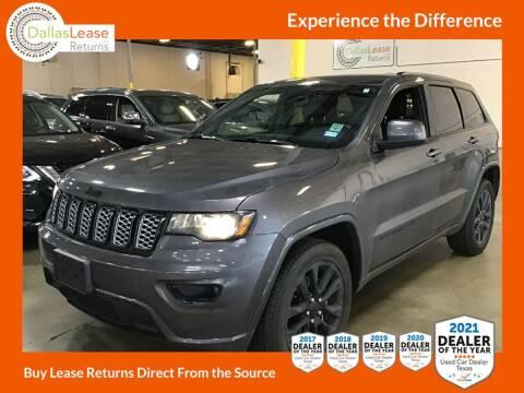 2020 Jeep Grand Cherokee for sale at Dallas Auto Finance in Dallas TX