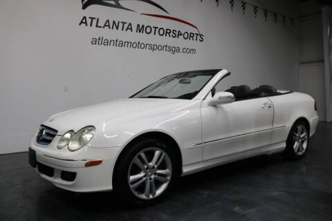 2006 Mercedes-Benz CLK for sale at Atlanta Motorsports in Roswell GA