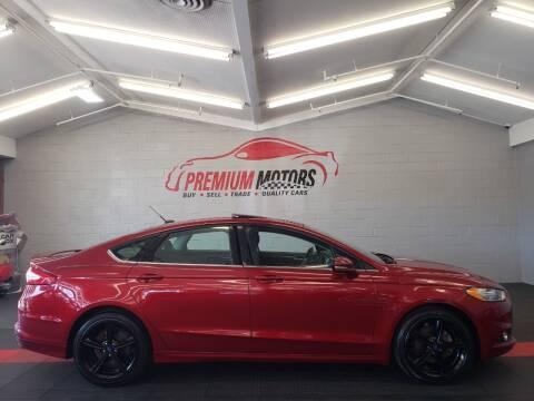 2016 Ford Fusion for sale at Premium Motors in Villa Park IL