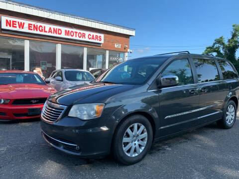 2011 Chrysler Town and Country for sale at New England Motor Cars in Springfield MA
