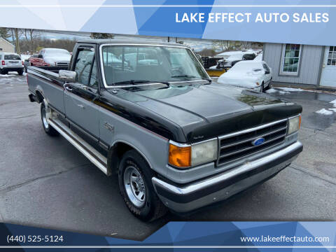 1991 Ford F-150 for sale at Lake Effect Auto Sales in Chardon OH