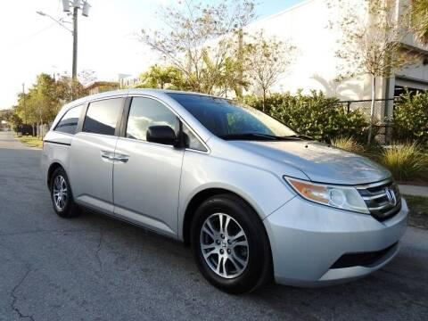2012 Honda Odyssey for sale at SUPER DEAL MOTORS in Hollywood FL