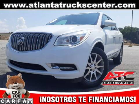 2017 Buick Enclave for sale at ATLANTA TRUCK CENTER LLC in Brookhaven GA