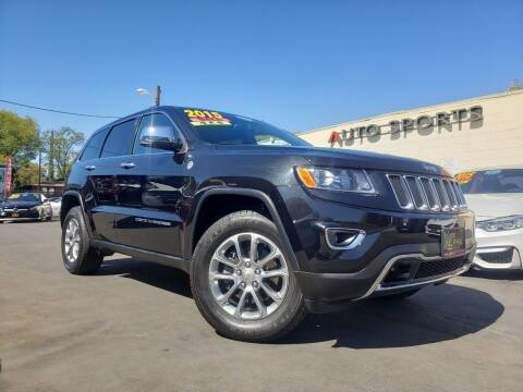 2015 Jeep Grand Cherokee for sale at Alpha AutoSports in Roseville CA