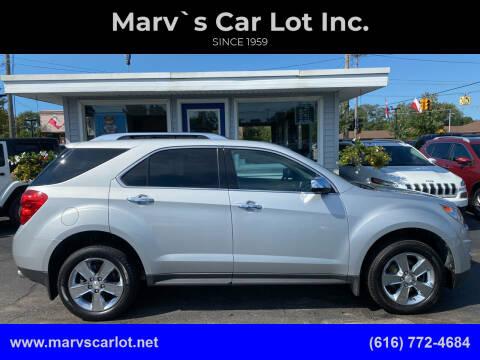 2013 Chevrolet Equinox for sale at Marv`s Car Lot Inc. in Zeeland MI