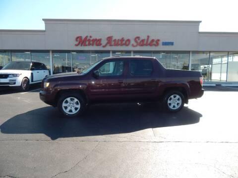 2007 Honda Ridgeline for sale at Mira Auto Sales in Dayton OH