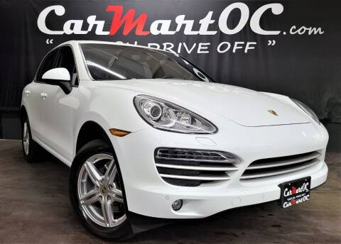 2014 Porsche Cayenne for sale at CarMart OC in Costa Mesa, Orange County CA