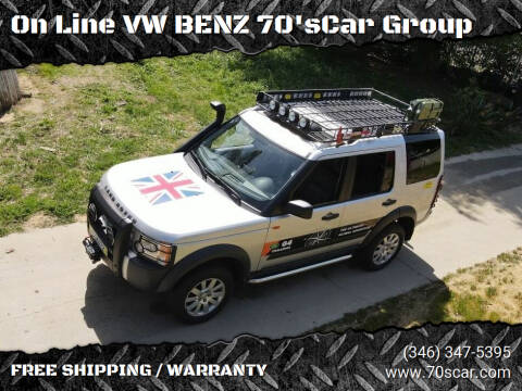 2005 Land Rover LR3 for sale at On Line VW BENZ 70'sCar Group in Warehouse CA