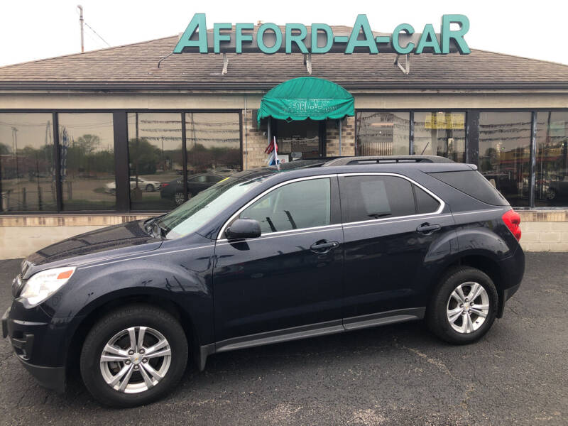 2015 Chevrolet Equinox for sale at Afford-A-Car in Moraine OH