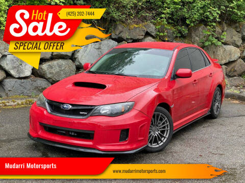 2012 Subaru Impreza for sale at Mudarri Motorsports in Kirkland WA
