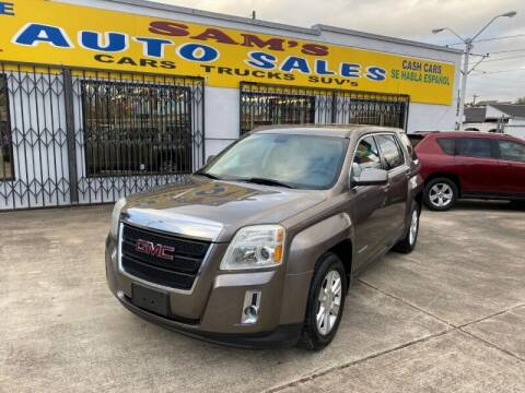 2011 GMC Terrain for sale at Sam's Auto Sales in Houston TX