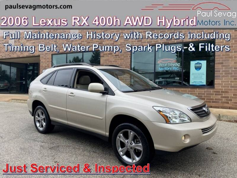 2006 Lexus RX 400h AWD 4dr SUV - West Chester PA
