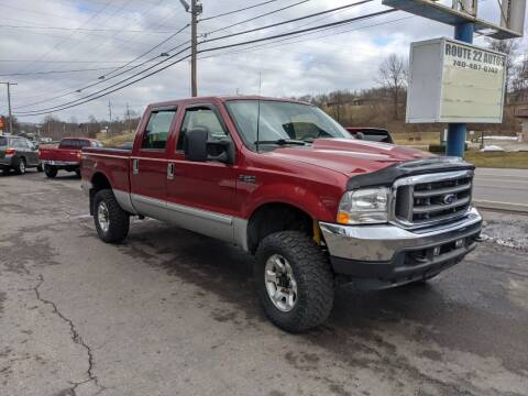 2003 Ford F-250 Super Duty for sale at Route 22 Autos in Zanesville OH