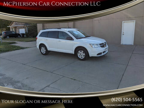 2012 Dodge Journey for sale at McPherson Car Connection LLC in Mcpherson KS