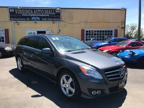 2011 Mercedes-Benz R-Class for sale at Virginia Auto Mall in Woodford VA