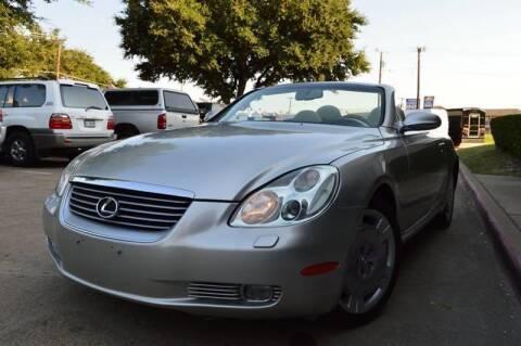 2003 Lexus SC 430 for sale at E-Auto Groups in Dallas TX