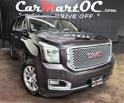 2016 GMC Yukon for sale at CarMart OC in Costa Mesa, Orange County CA