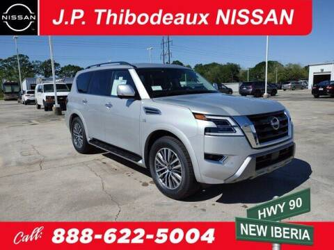 2021 Nissan Armada for sale at J P Thibodeaux Used Cars in New Iberia LA
