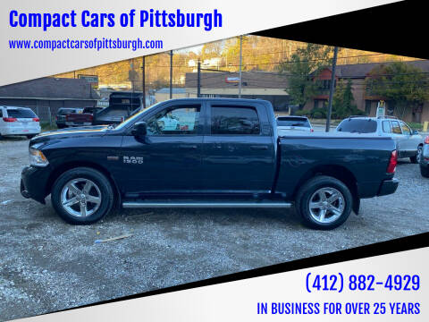 2014 RAM Ram Pickup 1500 for sale at Compact Cars of Pittsburgh in Pittsburgh PA
