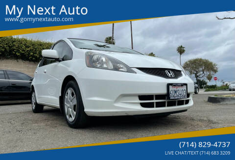 2012 Honda Fit for sale at My Next Auto in Anaheim CA