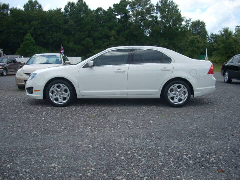 2010 Ford Fusion for sale at Car Check Auto Sales in Conway SC