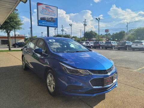 2018 Chevrolet Cruze for sale at Magic Auto Sales in Dallas TX