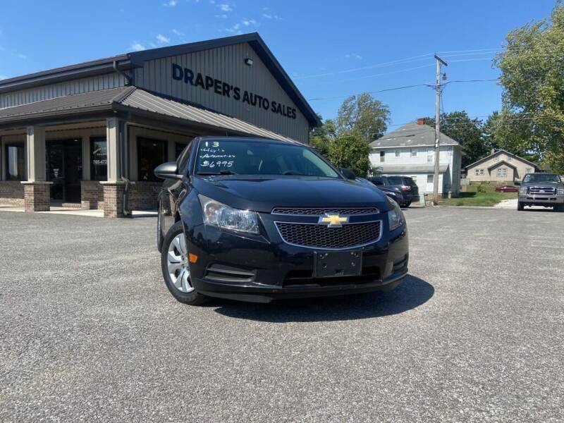 2013 Chevrolet Cruze for sale at Drapers Auto Sales in Peru IN