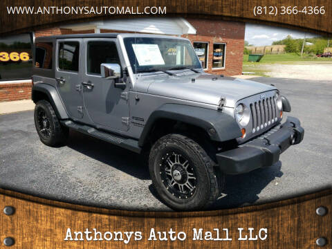 2013 Jeep Wrangler Unlimited for sale at Anthonys Auto Mall LLC in New Salisbury IN