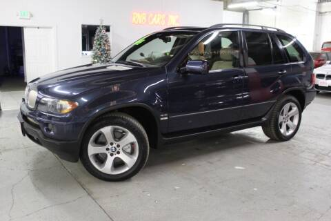 2004 BMW X5 for sale at R n B Cars Inc. in Denver CO