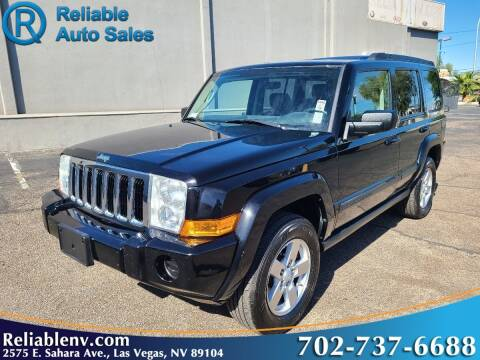 2007 Jeep Commander for sale at Reliable Auto Sales in Las Vegas NV