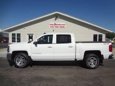 2018 Chevrolet Silverado 1500 for sale at GIBB'S 10 SALES LLC in New York Mills MN