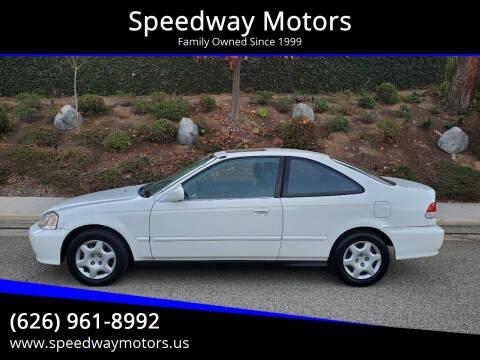 2000 Honda Civic for sale at Speedway Motors in Glendora CA