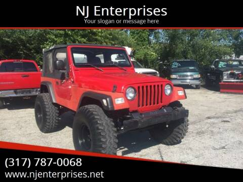 1997 Jeep Wrangler for sale at NJ Enterprises in Indianapolis IN