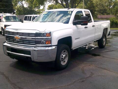 2015 Chevrolet Silverado 2500HD for sale at Stoltz Motors in Troy OH